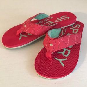 Girls Sperry Flip Flops